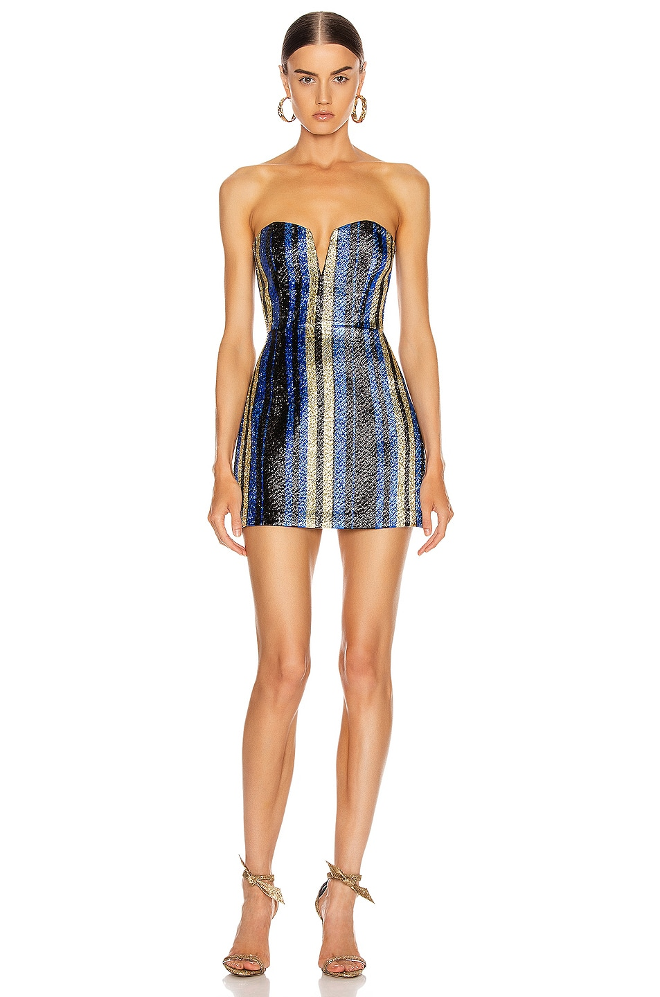 Image 1 of Alice McCall One World Mini Dress in Royal