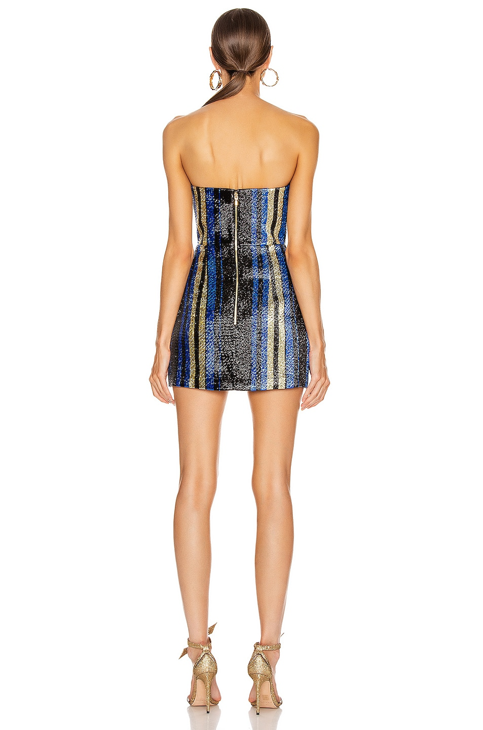 Image 3 of Alice McCall One World Mini Dress in Royal