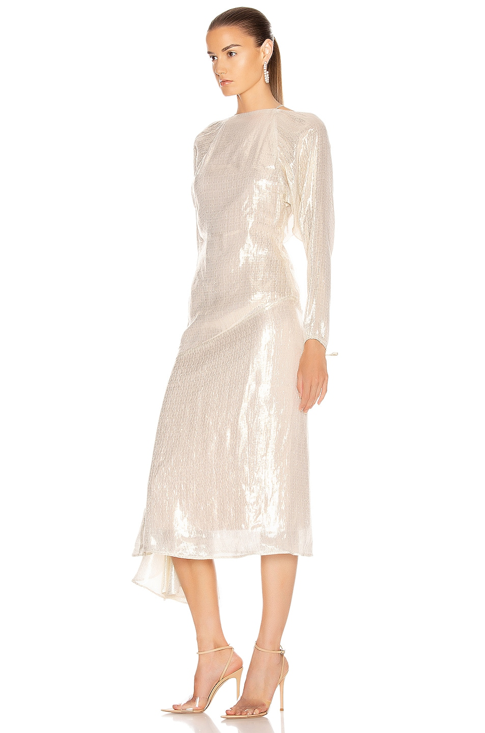 Image 3 of Alice McCall Champers Gown in Gold