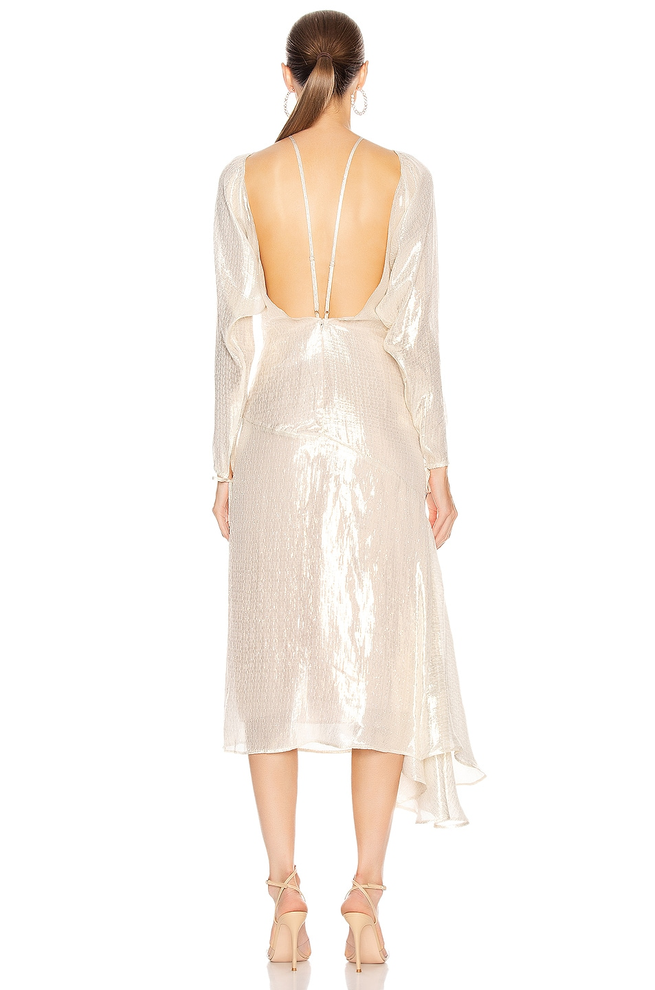 Image 4 of Alice McCall Champers Gown in Gold