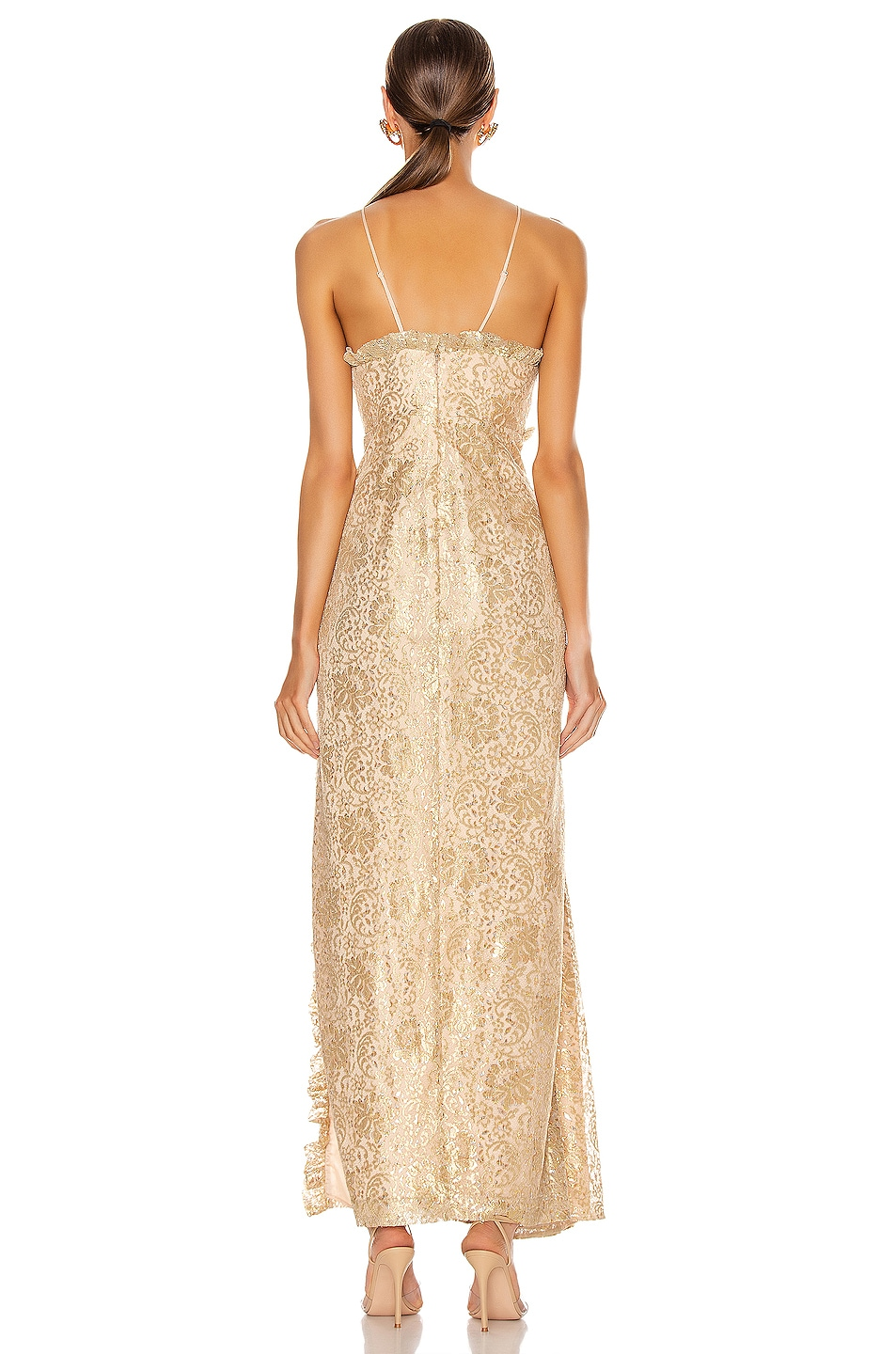 Image 4 of Alice McCall Distant Realms Gown in Linen