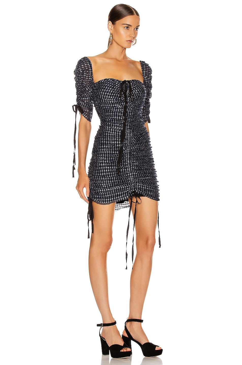 Image 2 of Alice McCall Cold Karma Midi Dress in Indigo