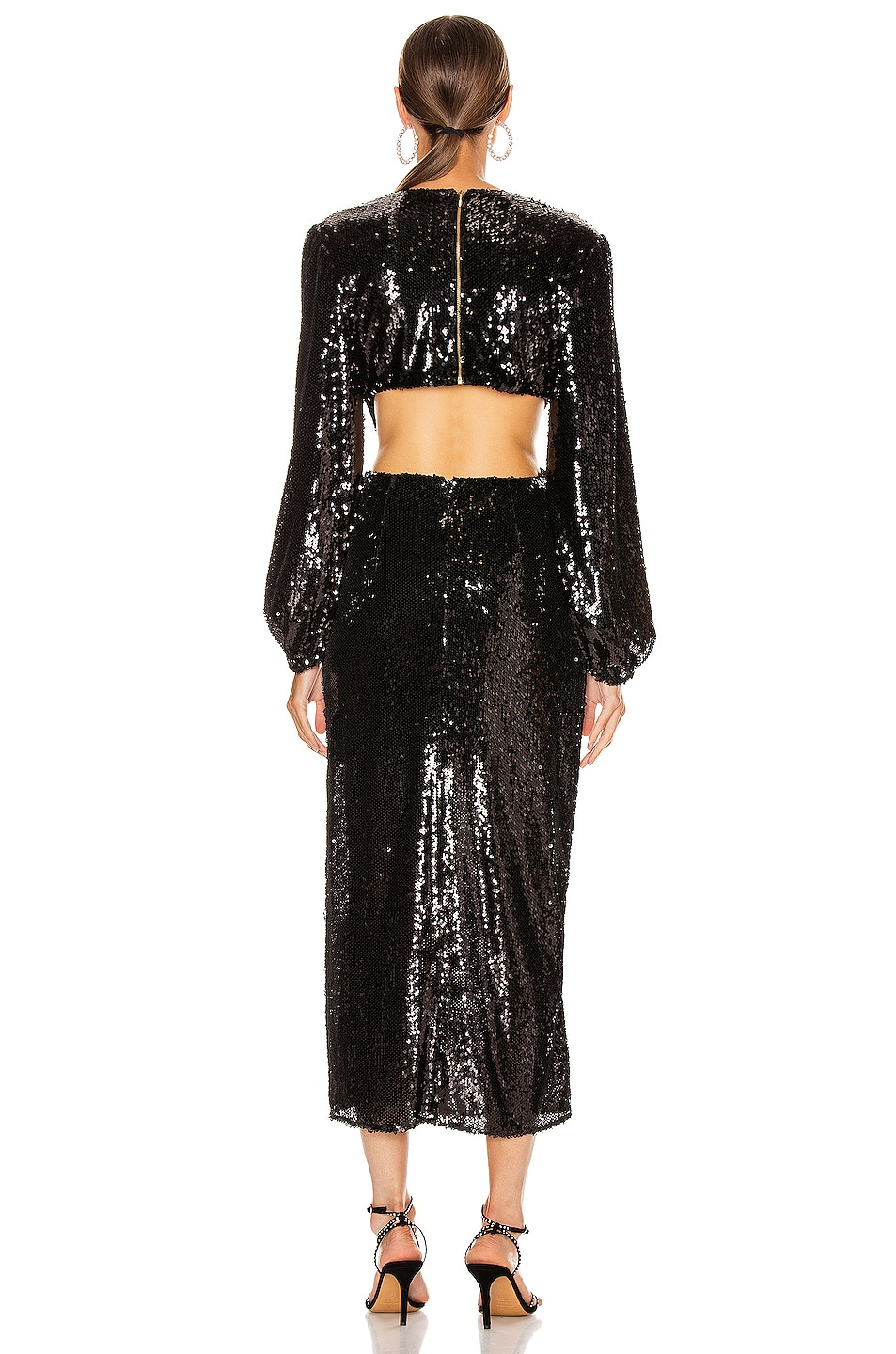 Image 4 of Alice McCall Electric Orchid Gown in Black