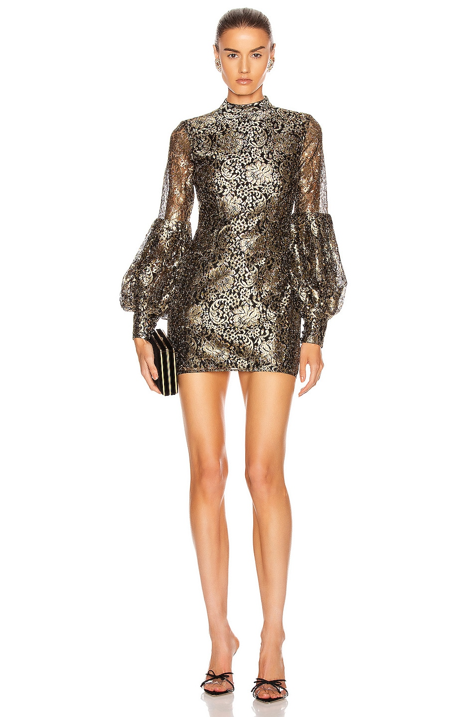 Image 1 of Alice McCall Distant Realms Full Waist Mini in Black
