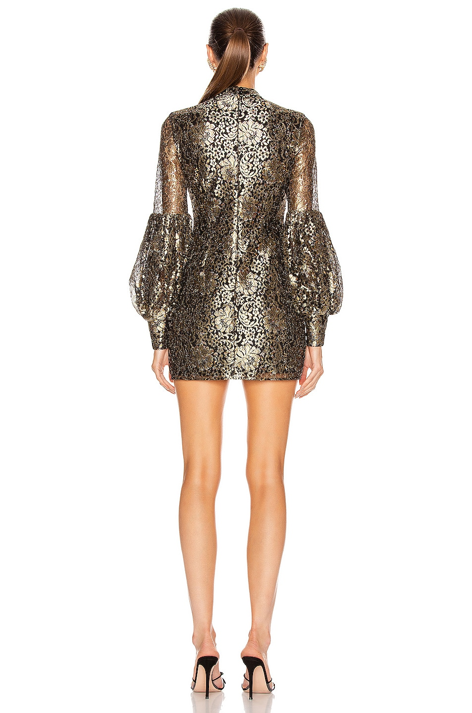 Image 3 of Alice McCall Distant Realms Full Waist Mini in Black