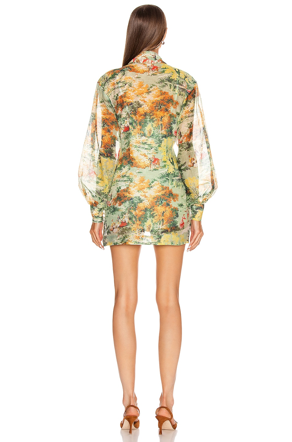 Image 3 of Alice McCall Strange Dreams Shirt Dress in Green