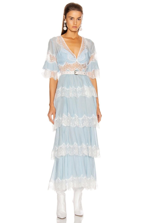 Image 1 of Alice McCall Divine Sister Maxi Dress in Glacier