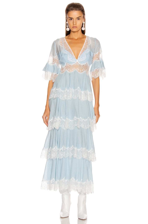 Image 2 of Alice McCall Divine Sister Maxi Dress in Glacier
