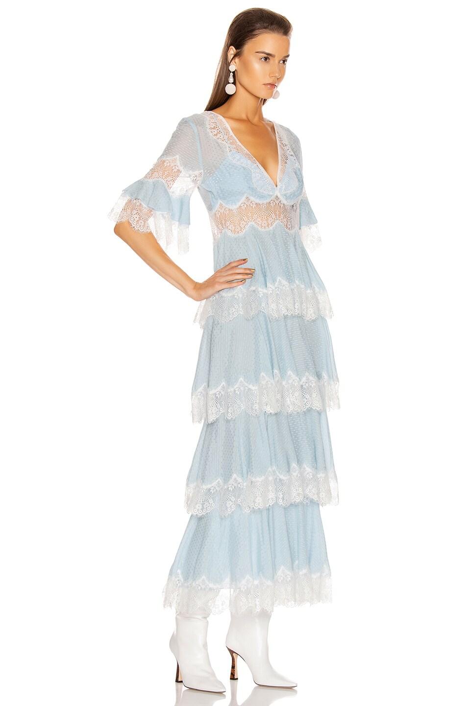 Image 3 of Alice McCall Divine Sister Maxi Dress in Glacier