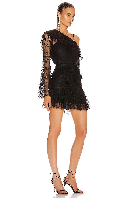 Image 2 of Alice McCall Shadow Love Mini Dress in Black