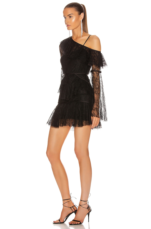 Image 3 of Alice McCall Shadow Love Mini Dress in Black
