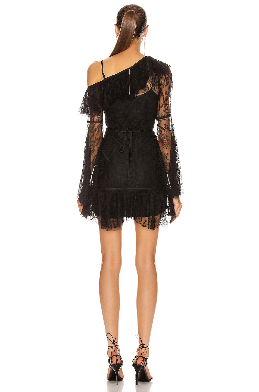 Image 4 of Alice McCall Shadow Love Mini Dress in Black