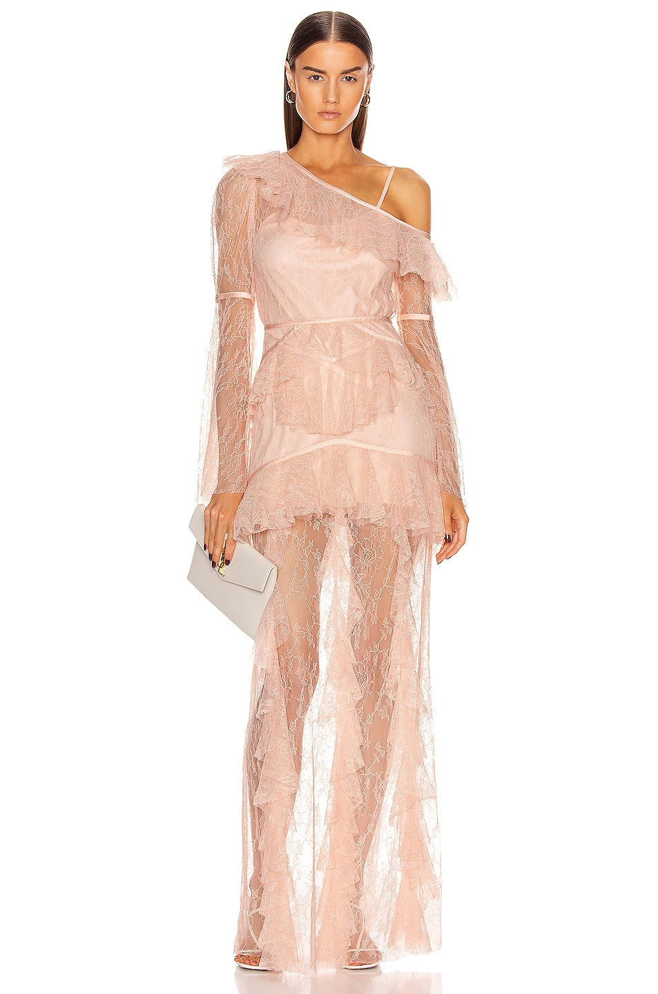 Image 1 of Alice McCall Shadow Love Gown in Tea Rose