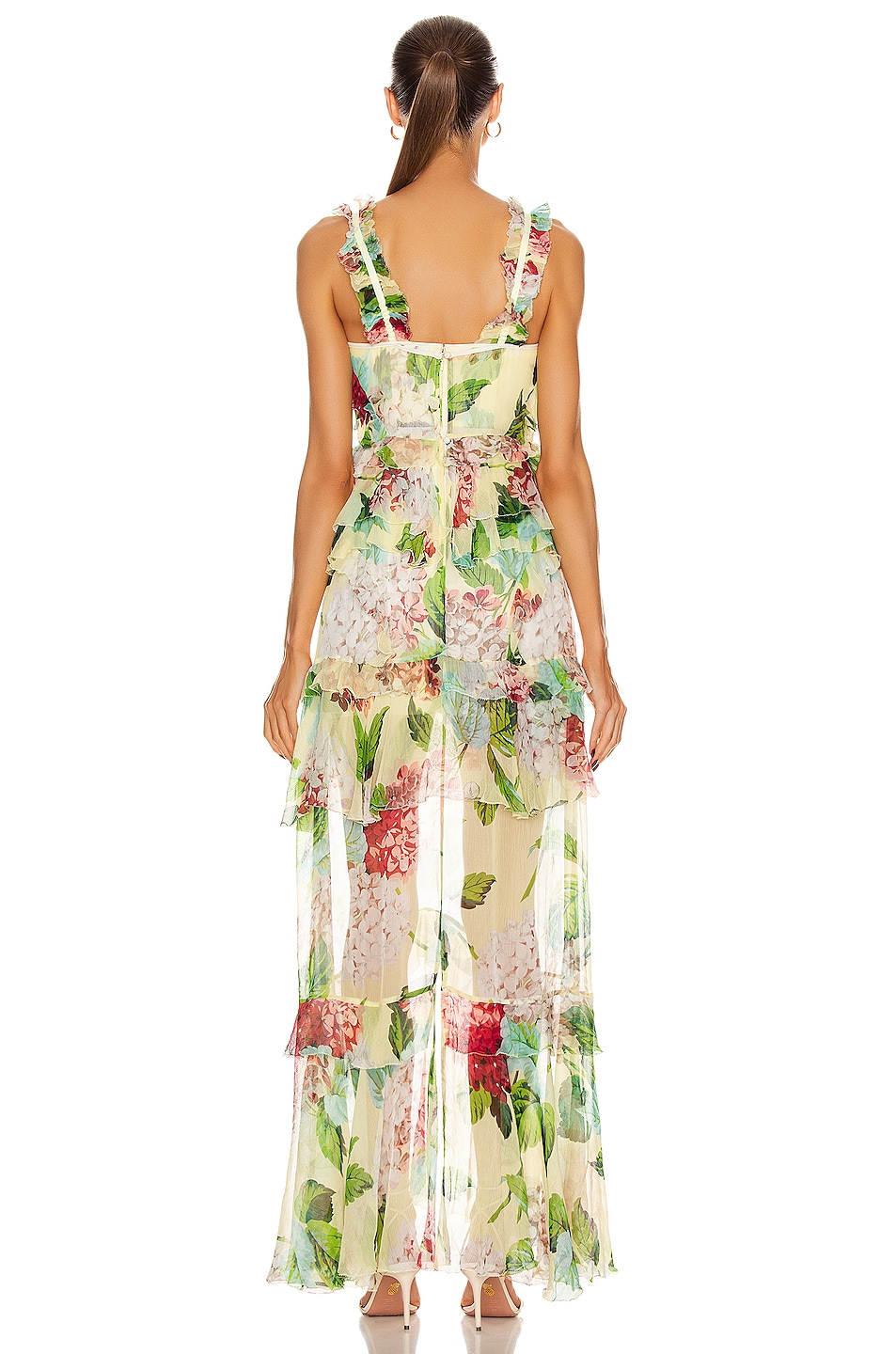 Image 3 of Alice McCall Wild Frontiers Gown in Lemon
