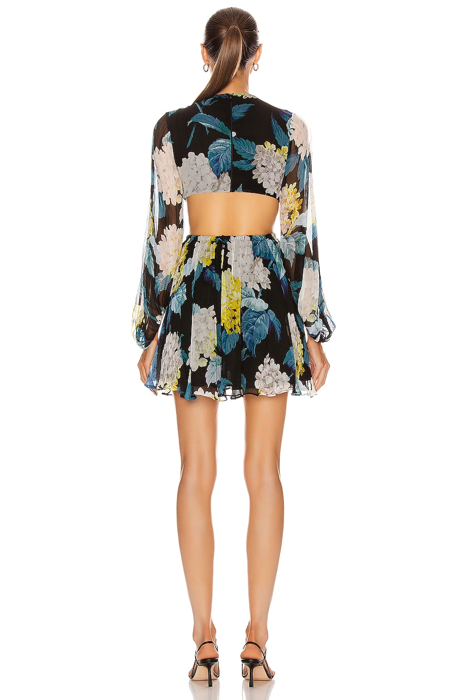 Image 3 of Alice McCall Wild Frontiers Mini Dress in Black