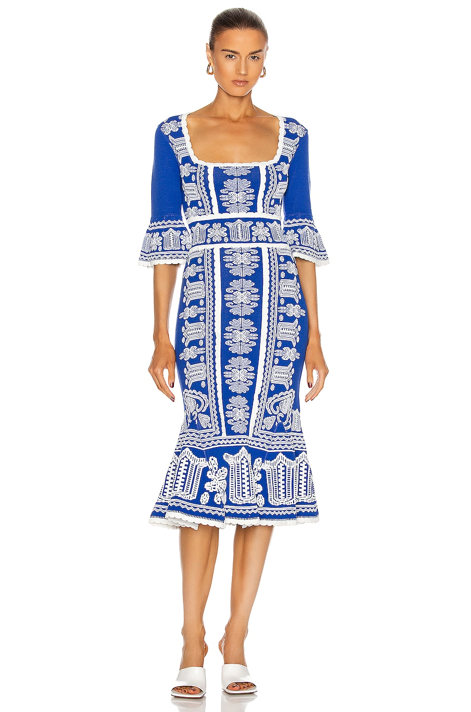 Image 1 of Alice McCall Devotion Midi Dress in Royal Blue