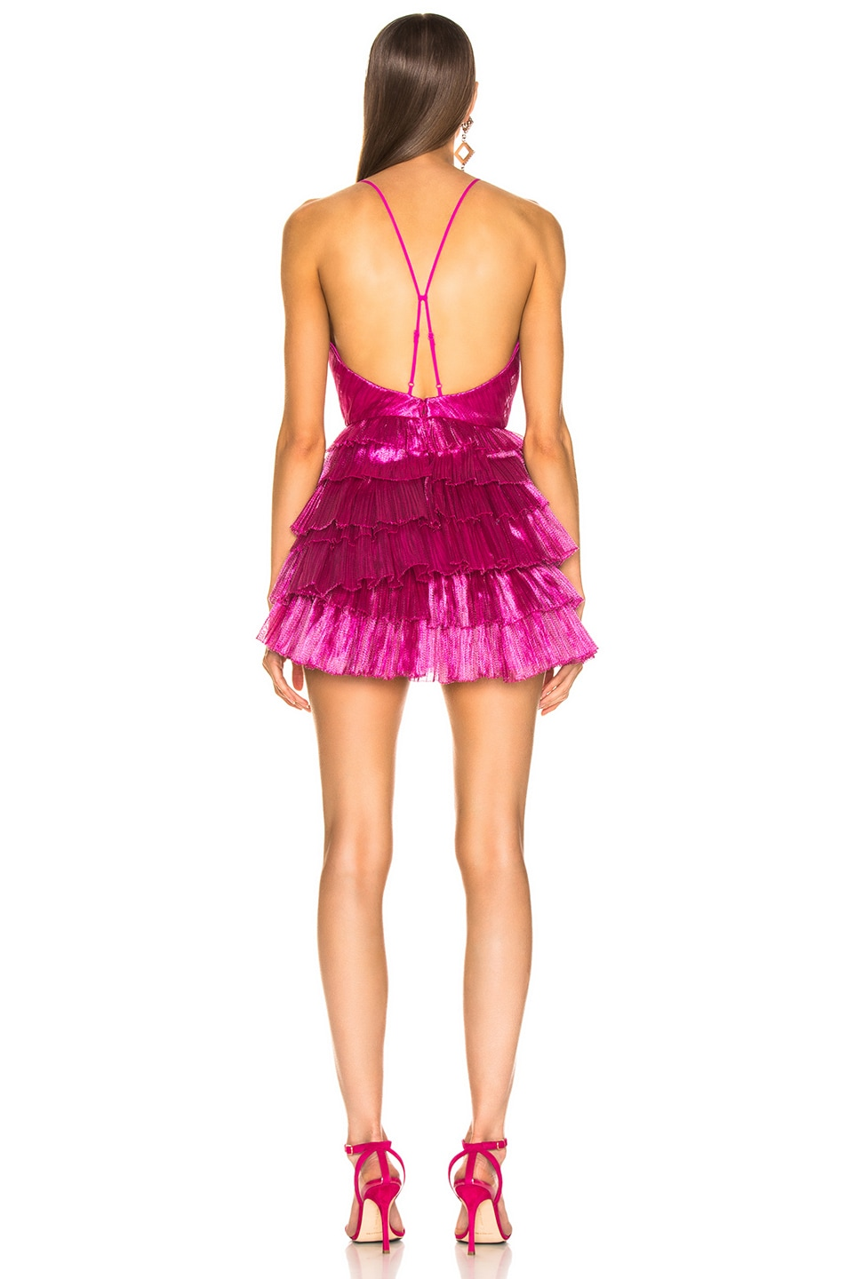 Image 3 of Alice McCall Don't Be Shy Dress in Fuchsia
