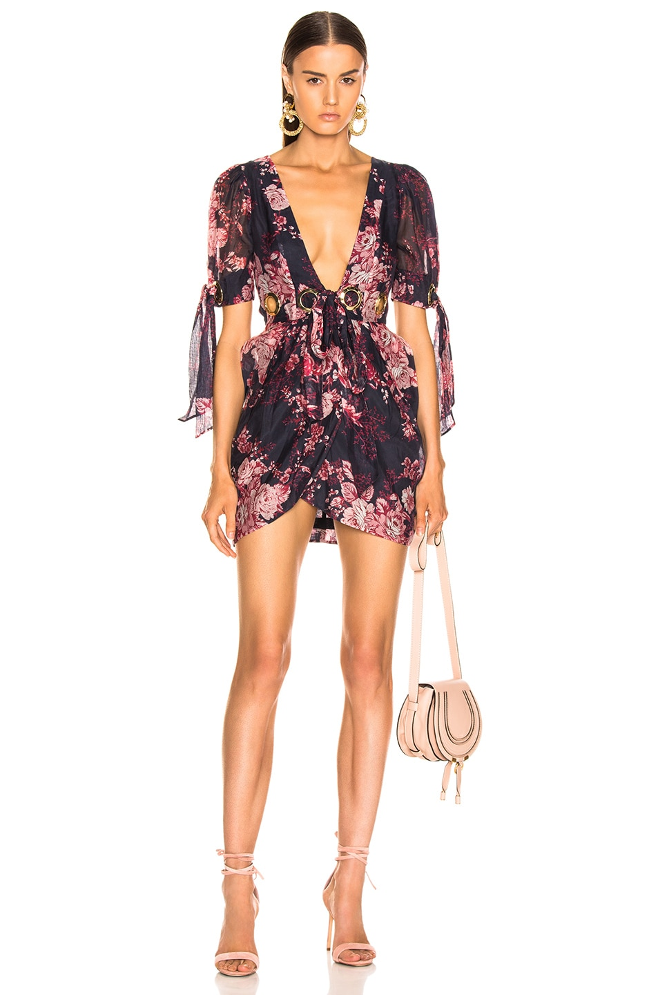 Image 1 of Alice McCall Only Everything Mini Dress in Ink
