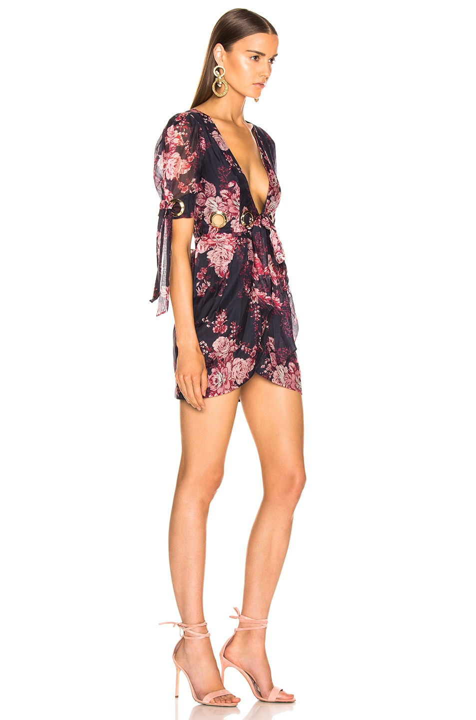 Image 2 of Alice McCall Only Everything Mini Dress in Ink