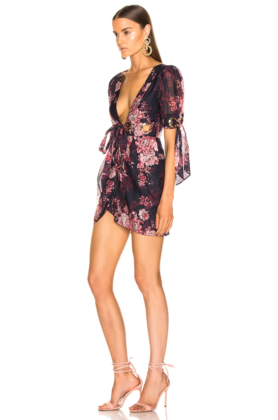 Image 3 of Alice McCall Only Everything Mini Dress in Ink