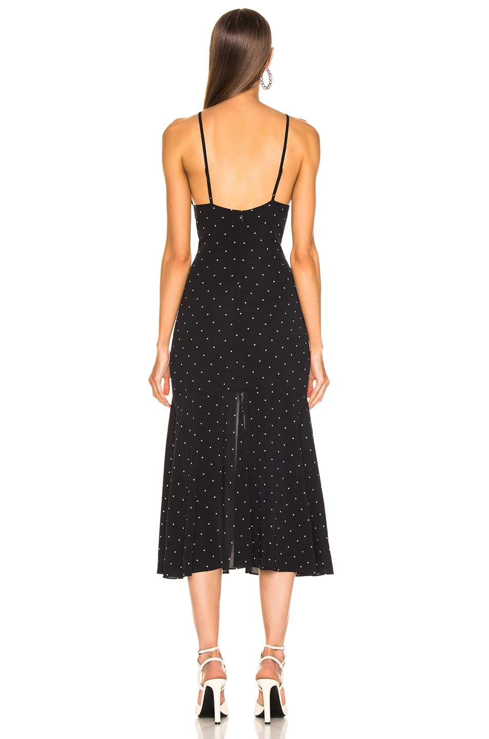 Image 3 of Alice McCall Oscar Rouched Midi Dress in Black