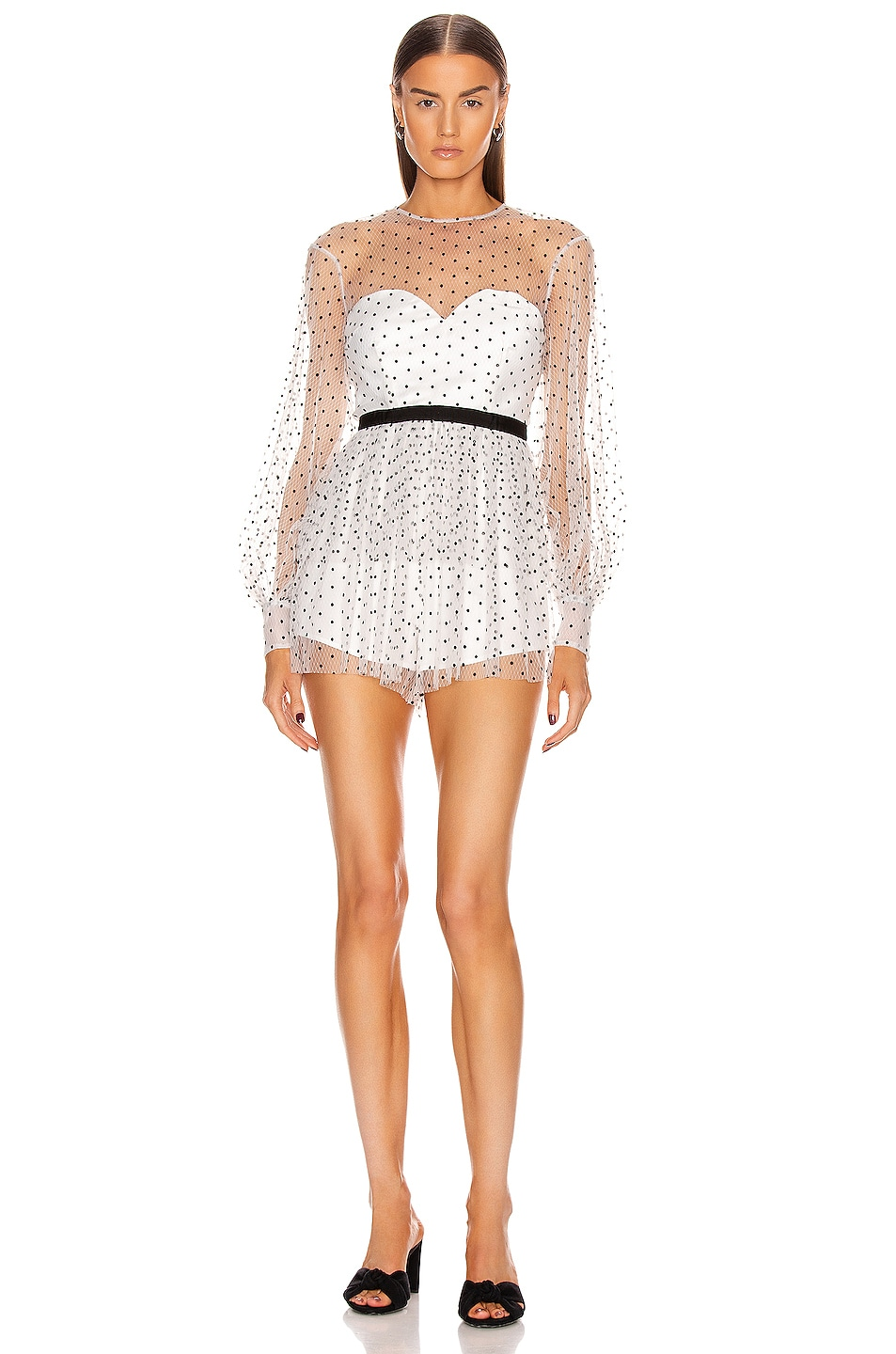Image 1 of Alice McCall Mysteria Playsuit in Porcelain