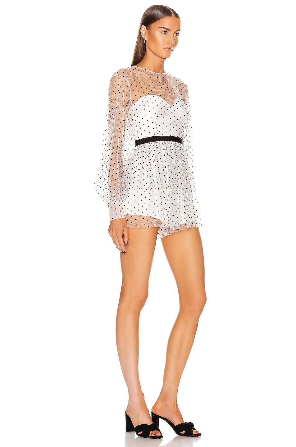 Image 2 of Alice McCall Mysteria Playsuit in Porcelain
