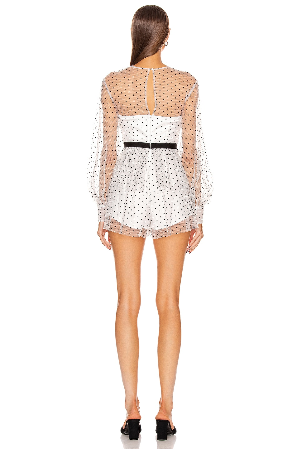 Image 3 of Alice McCall Mysteria Playsuit in Porcelain