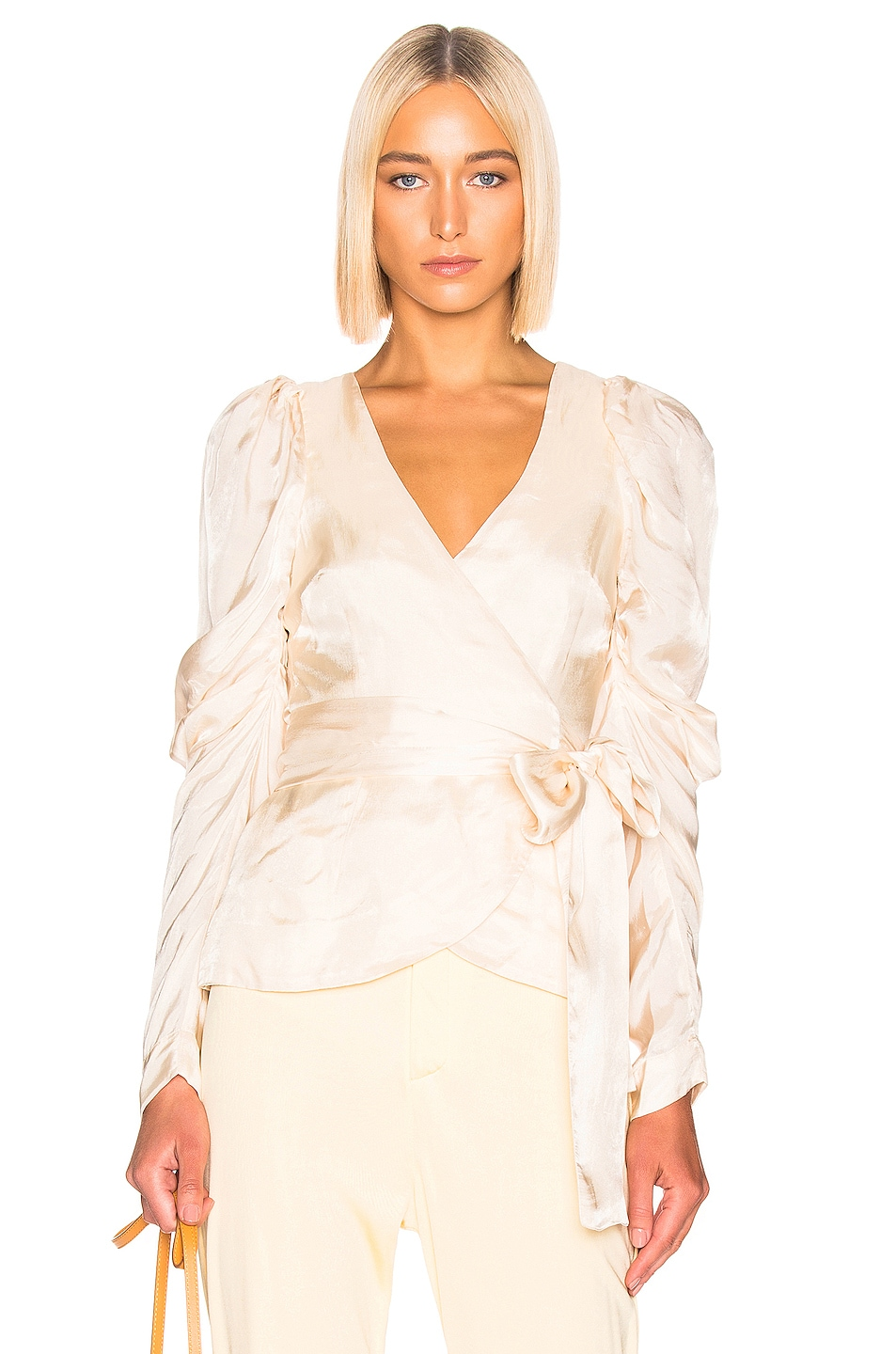 Image 1 of Alice McCall Blue Moon Blouse in Oyster