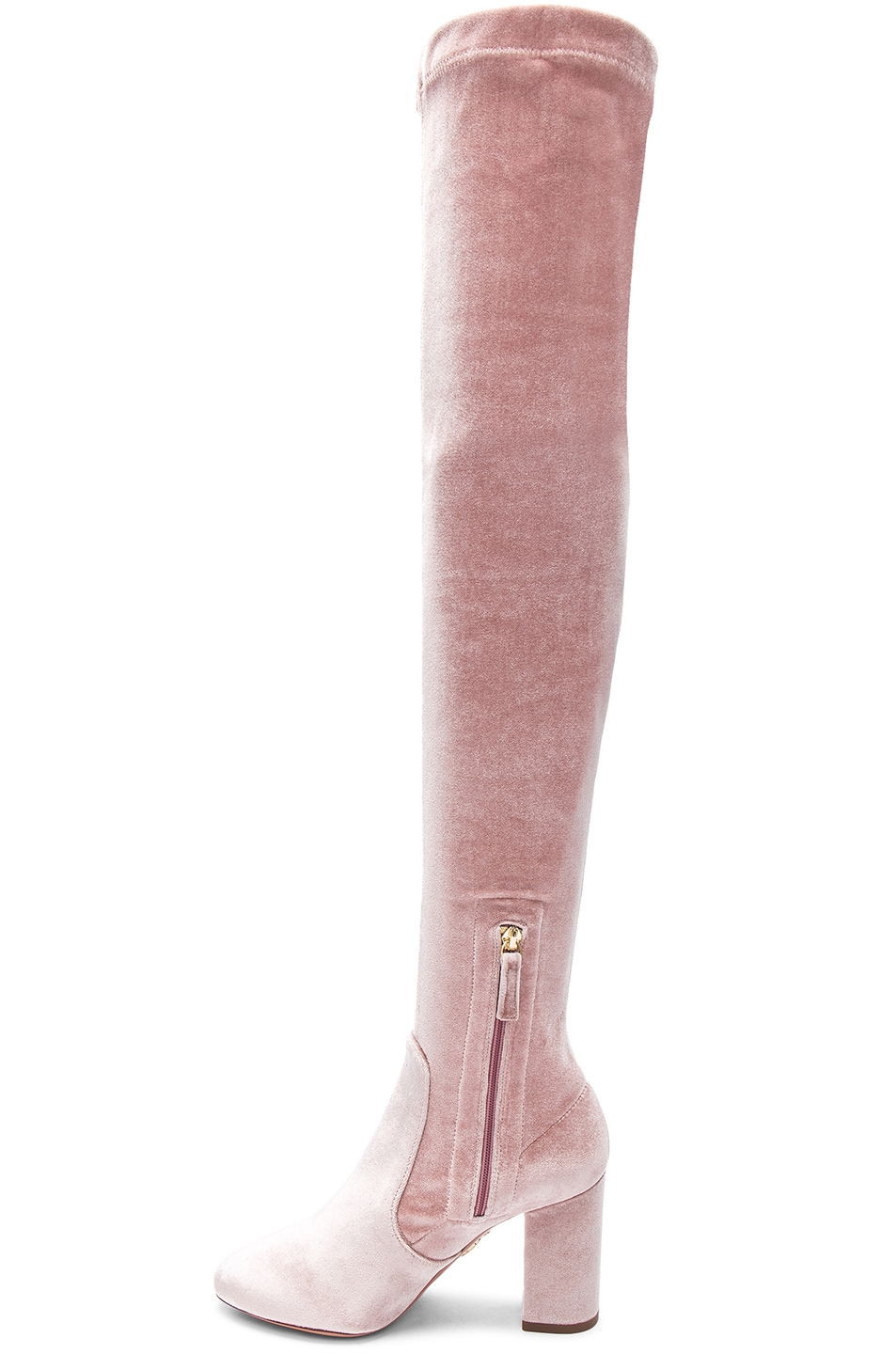 Shopping Order Online Aquazzura So Me 95 over-the-knee velvet boots Clearance Latest Clearance Outlet Locations Discount Excellent h1UhmY
