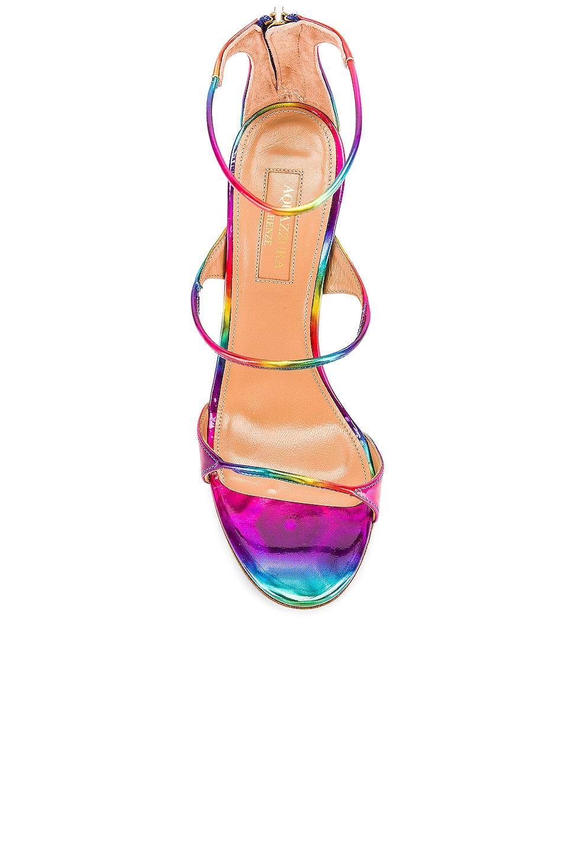 Image 4 of Aquazzura Minute 105 Sandal in Multicolor