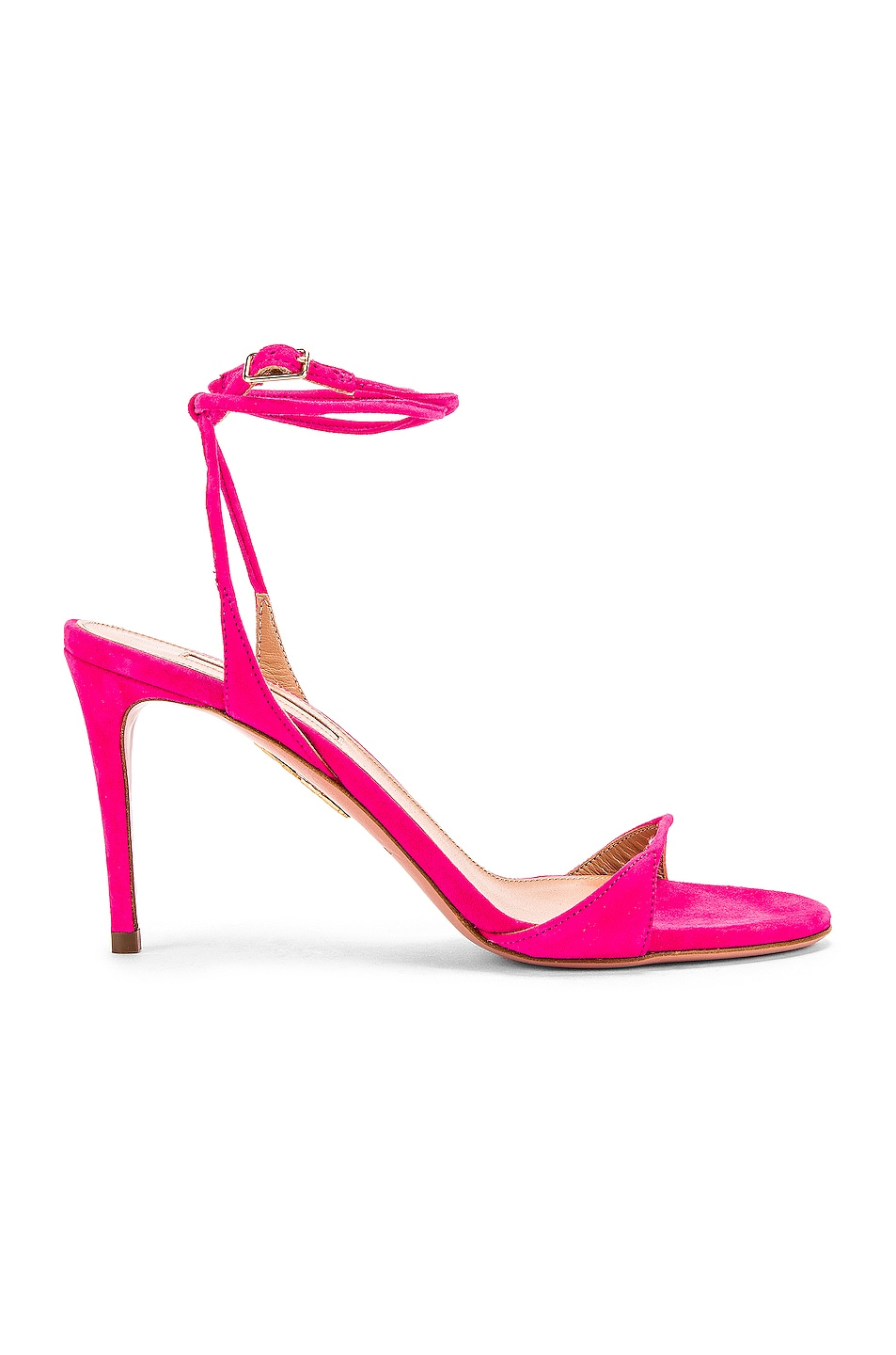 Image 1 of Aquazzura Minute 85 Sandal in Exotic Pink
