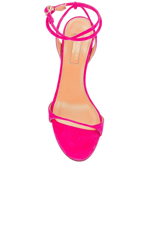 Image 4 of Aquazzura Minute 85 Sandal in Exotic Pink