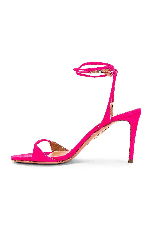 Image 5 of Aquazzura Minute 85 Sandal in Exotic Pink