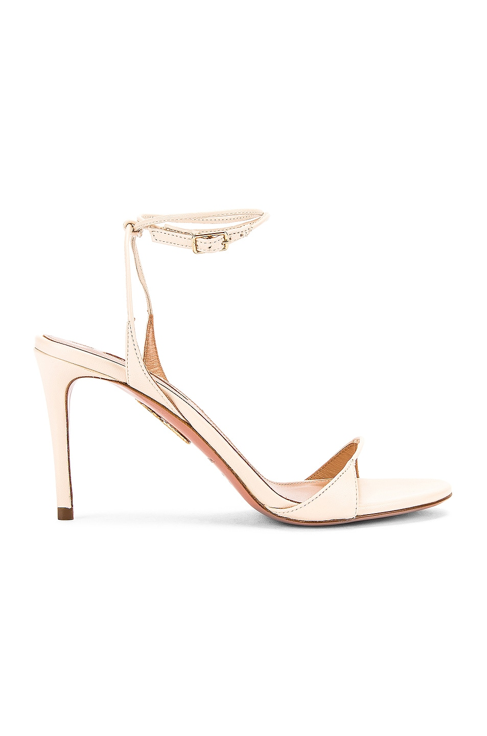 Image 1 of Aquazzura Minute 85 Sandal in Cream