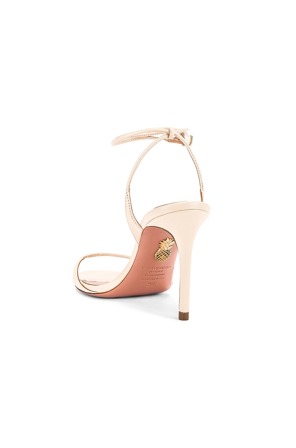 Image 3 of Aquazzura Minute 85 Sandal in Cream