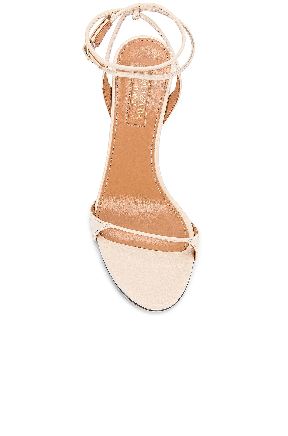 Image 4 of Aquazzura Minute 85 Sandal in Cream