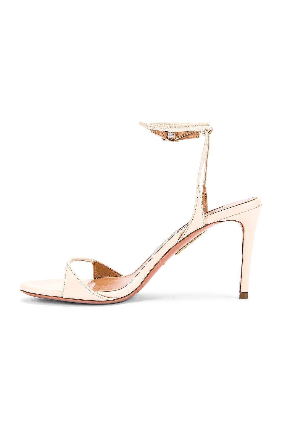 Image 5 of Aquazzura Minute 85 Sandal in Cream