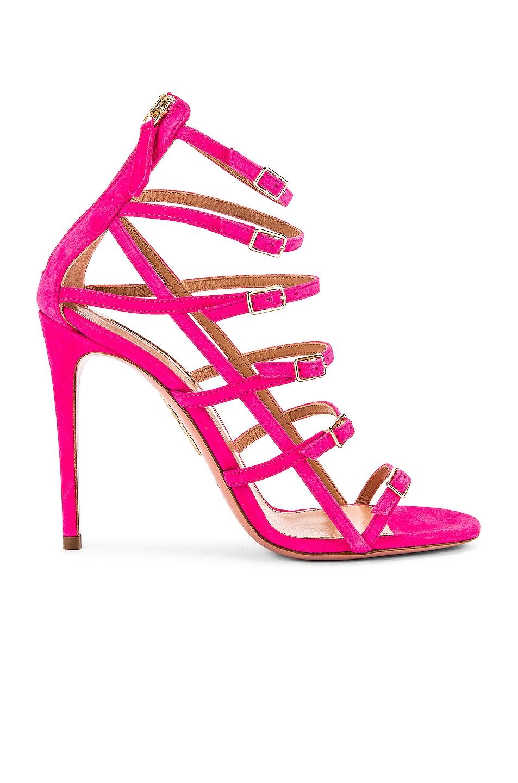 Image 1 of Aquazzura Super Model 105 Sandal in Exotic Pink
