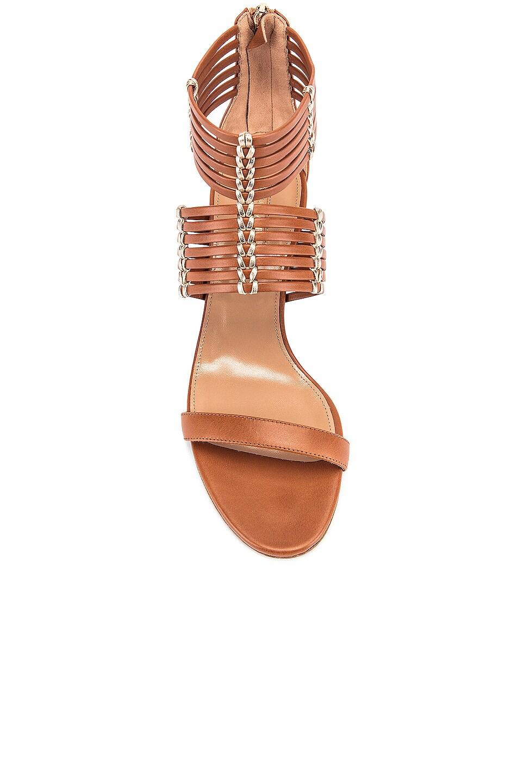 Image 4 of Aquazzura Ravello 50 Sandal in Safari & Soft Gold