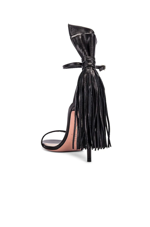 Image 3 of Aquazzura Whip It 105 Sandal in Black