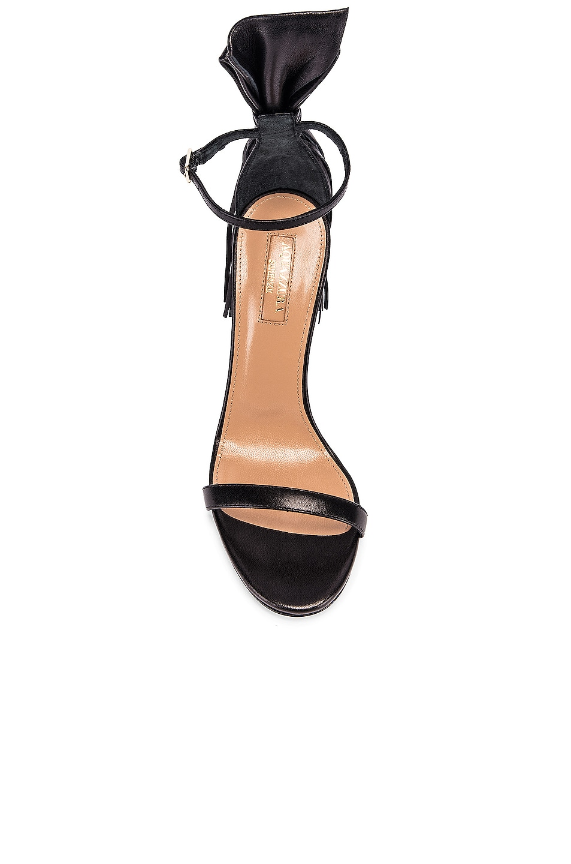 Image 4 of Aquazzura Whip It 105 Sandal in Black