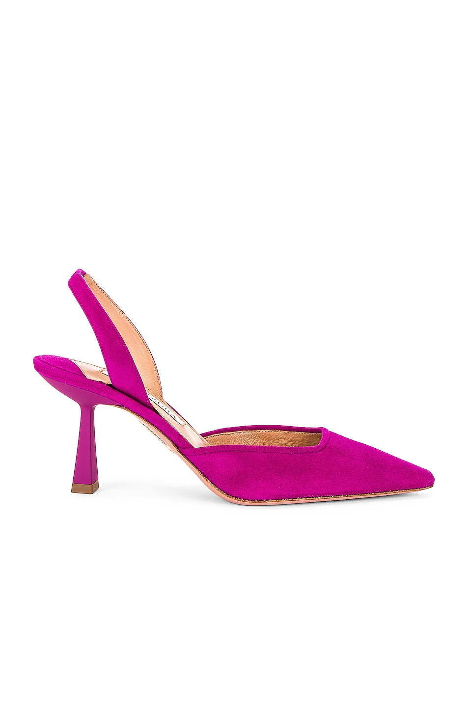 Image 1 of Aquazzura Maia 75 Slingback in Exotic Orchid