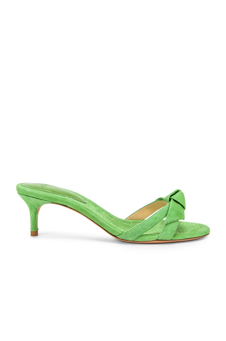 Image 1 of Alexandre Birman Cocktail Clarita Kitten Heel in Kiwi