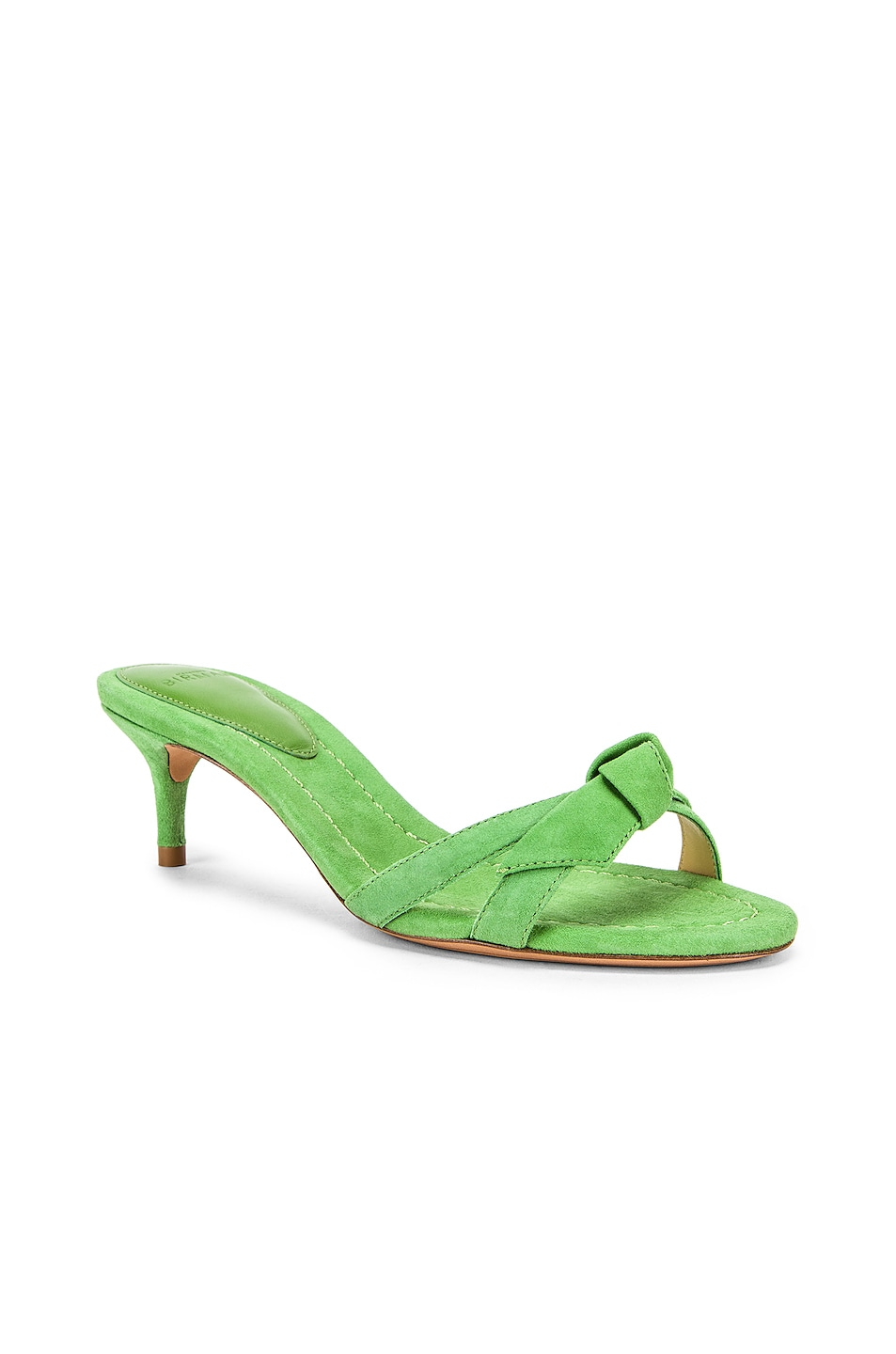 Image 2 of Alexandre Birman Cocktail Clarita Kitten Heel in Kiwi