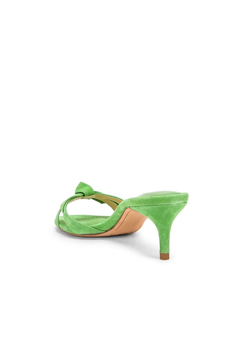 Image 3 of Alexandre Birman Cocktail Clarita Kitten Heel in Kiwi