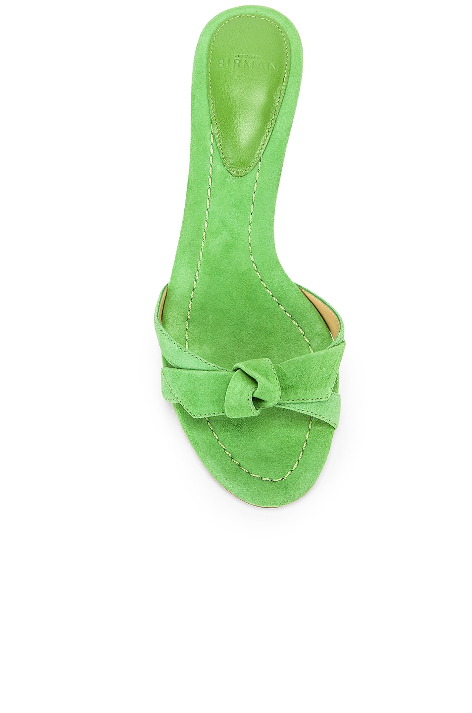 Image 4 of Alexandre Birman Cocktail Clarita Kitten Heel in Kiwi