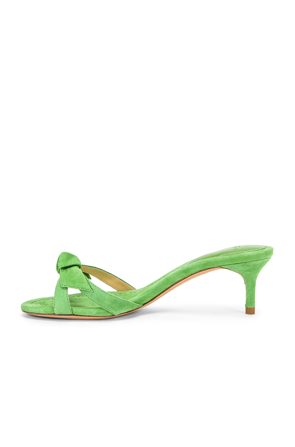 Image 5 of Alexandre Birman Cocktail Clarita Kitten Heel in Kiwi