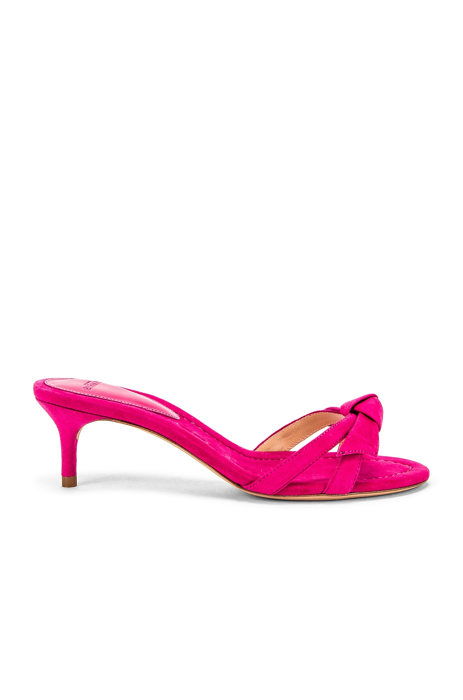 Image 1 of Alexandre Birman Cocktail Clarita Kitten Heel in Raspberry