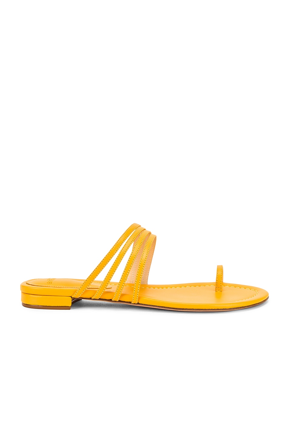 Image 1 of Alexandre Birman Strappy Flat Sandal in Sunflower